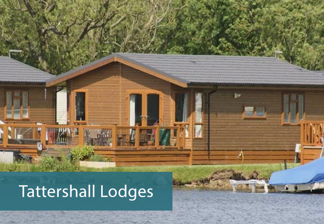 The places to stay on the lake including Lodges
